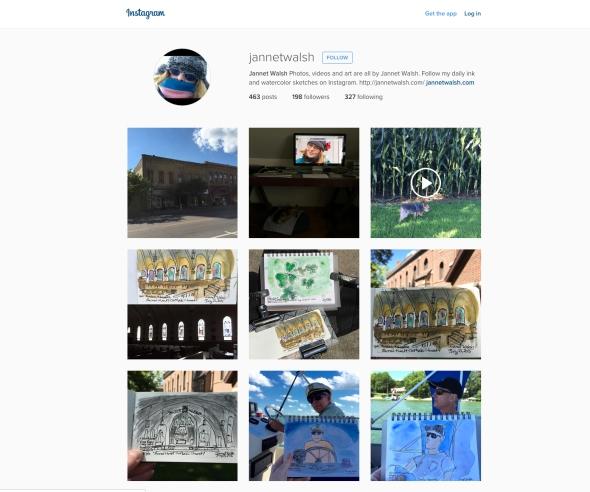 Instagram Jannet Walsh