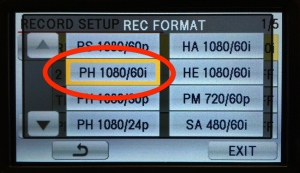 Panasonic AC90 camera record setting