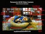 Panasonic AC90 view indicator