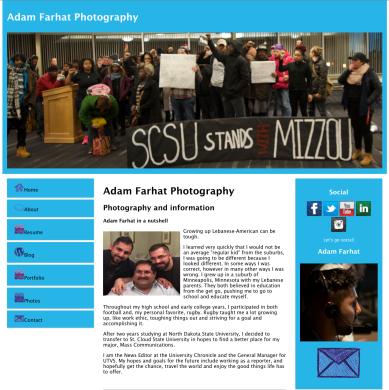 Adam Farhat, Saint Cloud State University